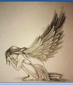Pretty angel sketch... <3