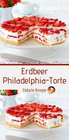 Easy Cheesecake Recipes, Easy Cookie Recipes, Healthy Dessert Recipes, Snack Recipes, Health Desserts, Snacks, Philadelphia Torte, Desserts Sains, Chip Cookie Recipe