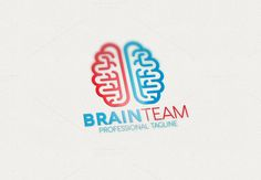 Brain Team Logo by Esse Logo Studio on Creative Market Badge Template, Logo Templates, Music Festival Logos, Brain Logo, Web Design, Logo Design, Crest Logo, Construction Logo, Mind Over Matter