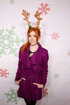 Katherine McNamara was looking so festive and adorable at Winter Wonderland!