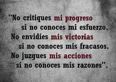 No critiques......