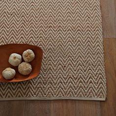 Jute Chenille Herringbone Rug - Natural/Ivory   West Elm5x8, 8x10 Living room or kitchen?