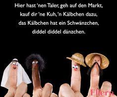 Krabbelverse und Kinderlieder: Fingerspiele für Babys: Zehn kleine Zappelfinger & Co