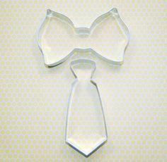 Bow Tie Cookie Cutter Set by DashandDollop on Etsy Bow Tie Cookies, Man Cookies, 1st Birthday Parties, Boy Birthday, Birthday Ideas, Baby Shower Themes, Baby Boy Shower, Cookie Crush, Mustache Party