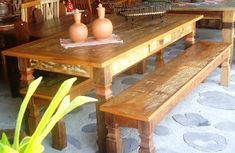 Wooden Dining Table Designs, Wooden Dining Chairs, Mesa Colonial, Wood Bed Design, Used Woodworking Tools, Wood Beds, Shiva, Furniture, Phone