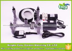4 Mister set of aeroponics. Full complete fittings for Aeroponics system. Tub not included. Free shipping