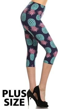 9d4f9bf34acbc Summer is coming and we are LOVING our new Brushed Teal Pineapple Leggings!  With a fabulous teal pineapple legging design and a soft and stretchy  comfort ...