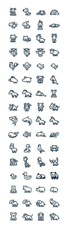 I looove baby animals! I can totally see getting a bunch of these on my arm!!
