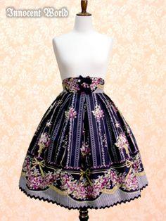 Innocent World 邸宅のすみれスカート