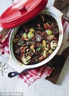 Mary berrys christmas recipes fresh salmon and dill terrines mary berrys christmas crowd pleasers boxing day beef bourguignon forumfinder Choice Image