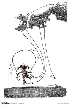 Sürgündeki İranlı Karikatürist Mana Neyestani'den Sistem Karşıtı 100 Karikatür