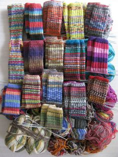 Knit Socks, Knitting Socks, Hard Days, Sock Yarn, Rainbows, Drawer, How To Find Out, Knit Crochet, Goal