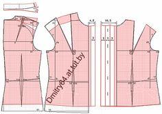 """Примеры моделей блузок разработанных на основах рассчитанных в программе """"Закройщик"""""""