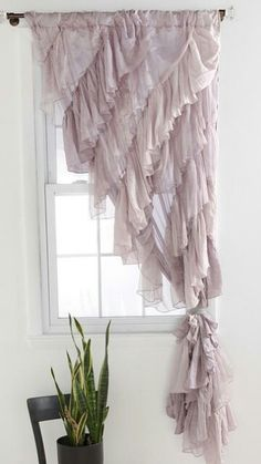Ruffle Pillow Ruffles And Pillows On Pinterest