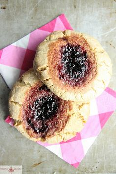 Peanut Butter and Jelly Scones @Heather Christo