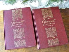 Vintage The Gourmet Cookbook Volume I and II NIB by cynthiasattic, $59.00