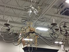 Chandelier for porch? Arhaus Warehouse Outlet