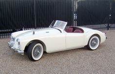 Bid for the chance to own a 1957 MGA Roadster at auction with Bring a Trailer, the home of the best vintage and classic cars online. Vintage Sports Cars, British Sports Cars, Cool Sports Cars, Classic Sports Cars, Sport Cars, Vintage Cars, Cool Cars, Antique Cars, Best Classic Cars