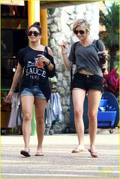 Vanessa and Ashley
