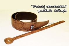 DESERT SNAKESKIN style electric guitar/bass strap has vintage classic retro look #RockYou