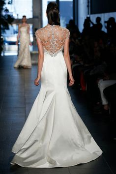 Rivini Bridal Spring 2014 - Avina. The back should look as pretty as the front