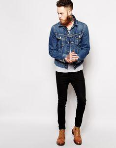 Image 4 ofLee Denim Jacket Rider Slim Fit Epic Blue
