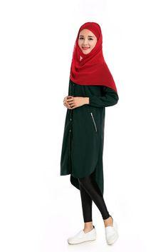 Long muslim women abaya