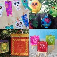 Día De Muertos Crafts And Printables
