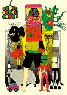 illustration | motograph | 森 俊博 Toshihiro Mori