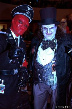 Red Skull and The Penguin cosplay