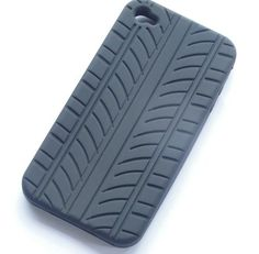 Tyre Pattern Silicone Case for Apple iPhone 4/4S
