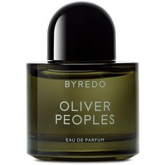 Byredo Oliver Peoples Green Eau de Parfum (1,555 EGP) ❤ liked on Polyvore featuring beauty products, fragrance, beauty, makeup, perfume, fillers, byredo, eau de perfume, perfume fragrances and eau de parfum perfume