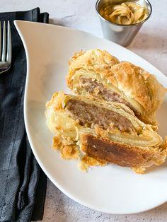 Sausage Rolls, Sausage Breakfast, Honey Mustard, Tray Bakes, Brunch, Pork, Stuffed Peppers, Dishes, Inspired