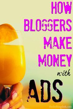 Curious how bloggers make money with the ads you see on their sites? It's actually pretty easy! Check out which ones I use and how to use them on YOUR blog.