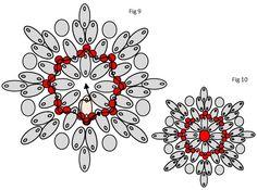 עשה זאת בעצמך פרחי חרוזים עם מיטות נפרדות BeadsHandmade-תכשיטים, מועדון Beading Projects, Beading Tutorials, Beading Patterns, Beaded Jewelry Designs, Handmade Beaded Jewelry, Twin Beads, Beading Techniques, Jewelry Making Tutorials, Diy Necklace