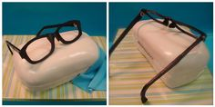 eyeglasses cake | How cool would this be for Great Glasses Day?
