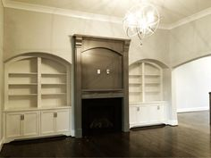 Great Room. By Meridian Construction.
