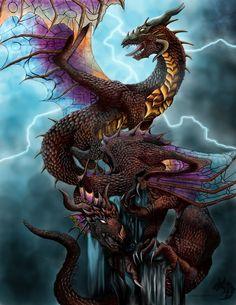 Dragon --- Sanctuary - Request by *XRosewaterX on deviantART