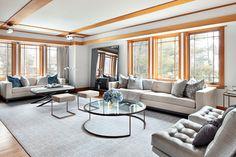 Living Spaces - contemporary - living room - new york - Clean Design NY Interior Designer Jared Epps jaredshermanepps.com