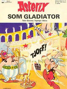 Asterix som Gladiator, en noruego