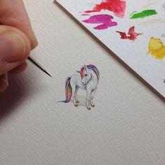 Крошечные рисунки Брук Ротшэнк (Brooke Rothshank)