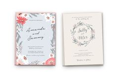 Hand Drawn Floral Kit by VladCristea on @creativemarket