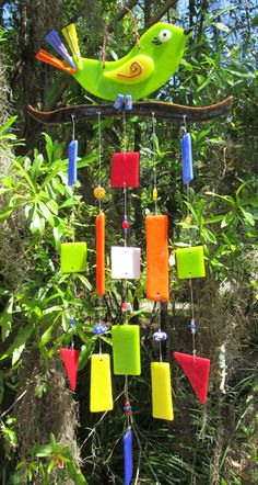 Cute little Bird wind chimes