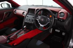 Nissan GT-R R35 interior. This will be mine <3