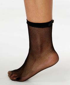 kate spade new york's fishnet dress socks with bow adornment are full of whimsy…