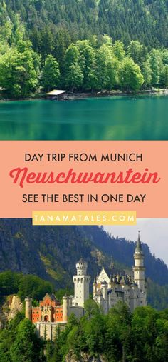 Things to do in #Munich, #Germany - A lot of people visit the #Neuschwanstein Castle as a day trip from Munich. And, I get it. The castle is spectacular. Even Walt Disney got inspired by it (because of its major fairy tale aura).  However, the area surrounding the castle is breathtaking. Why not experience that side of Bavaria too? My guide to the area shows you how to make the most of a day in there.