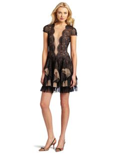 Plenty by Tracy Reese Women's Applique Frock