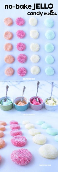 How to make Jello Candy Melts! The recipe doesn't require any baking or cooking, so they are great to make on a hot day!
