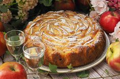 Sweet Pastries, Apple Cake, Camembert Cheese, French Toast, Cooking Recipes, Bread, Baking, Breakfast, Food
