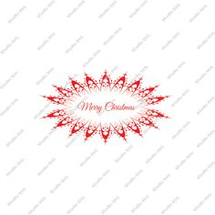 Merry Christmas, Digital Cut File, Vinyl Cutting File, Print and cut, SVG, DXF, EPS, Silhouette, Studio, Studio 3, Red, Cricut by StudioSVG on Etsy